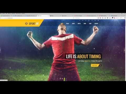 Создание продающего сайта на joomla на премиум шаблоне