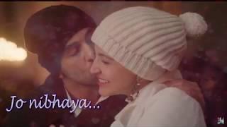 Alizeh - Ae Dil Hai Mushkil | Whatsapp Status Video  | Pritam | Amitabh | Arijit I Ash | Shashwat