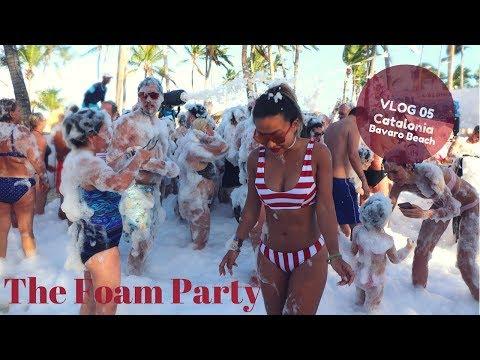 Catalonia Punta Cana Vlog 05: The Foam Party