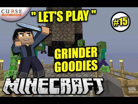 Minecraft PS4 - GRINDER GOODIES