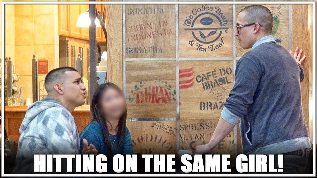 HITTING ON THE SAME GIRL!!! (FT. LIMITLESS EXP)