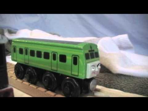thomas wooden railway daisy 2