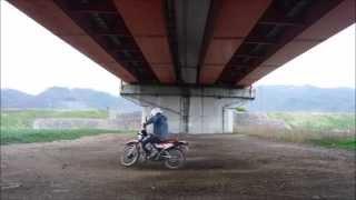 オフロードバイク物語  練習編3  ターン練習②  DT50