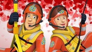 Brandweerman Sam Nederlands Nieuwe Afleveringen 🔥 ❤️ Sam redt Valentijnsdag 🚒 Kinderen Cartoon