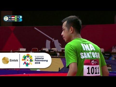 Highlight Table Tennis Putra - Indonesia Vs Yemen | Gelora Asian Games 2018