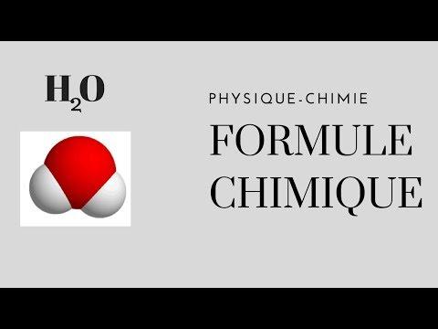 Formules Chimiques (Physique-Chimie)