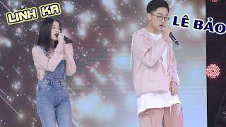 """Linh Ka """"SÁNH ĐÔI"""" cùng Lê Bảo cực ngọt ngào khiến Trịnh Thăng Bình không ngại """"THẢ THÍNH"""" thumbnail"""