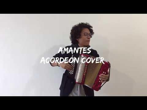Amantes - Greeicy ft Mike Bahía Mulett Acordeón Cover