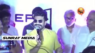 Ram Charan About Prabhas Saaho Movie || Ram Charan Launched India's largest screen V Epiq Hall || SM