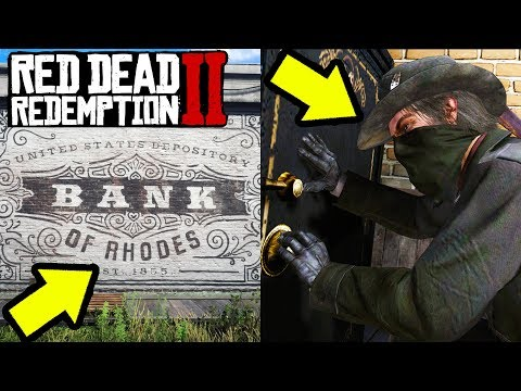 SECRET BANK HEIST in Red Dead Redemption 2! RDR2 Money Fast and Easy!
