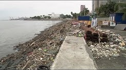 "Clean-up operation along Manila Bay following Typhoon ""Ompong"""
