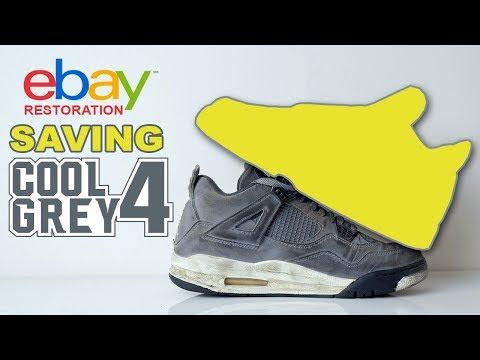 Saving Cool Grey 4's purchased on eBay