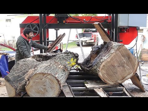 This Log Came Apart on my Sawmill
