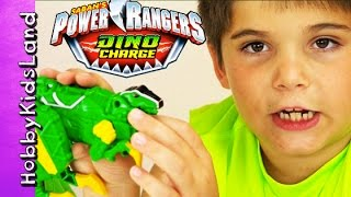 Power Rangers Dino Charge! Dinosaur Zord Toy Review, Box Open HobbyKidsLand
