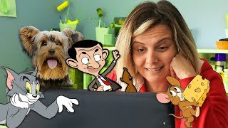Bu Site Süper !  Mr Bean, Scooby Doo Çizgi Filmleri | Cartoon Network Boomerang TV | EvcilikTV