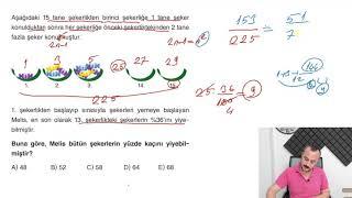 Sıra Yeni Nesilde YÜZDE PROBLEMLERİ Test 4 Miray Yayınları TYT Soru Bankası