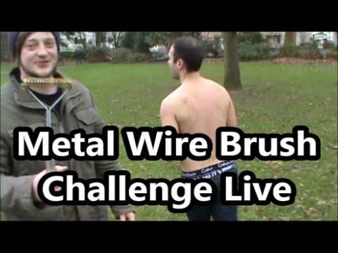 Metal Wire Brush Challenge |Ft Wheremychallenge