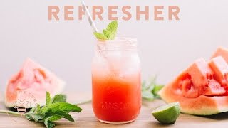 Watermelon Honey Lime Refresher - Honeysuckle