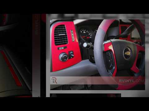 2007-2013 Rdash® Chevrolet Silverado Dash Kits LT & WT