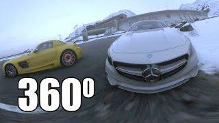 Ролик в 360° — DRIVECLUB Mercedes AMG S65 Coupe (4k)