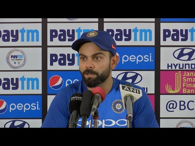 Will respect government & board's decision on playing Pakistan at World Cup - Virat Kohli