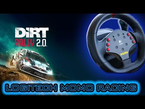 Dirt Rally 2.0 на Logitech Momo Racing годный автосимулятор, наметивший в топы