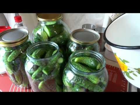 Маринованные Огурцы На Зиму Хрустящие Проверенный Рецепт Без стерилизации/Pickles For The Winter