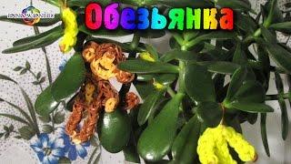 Обезьянка из резинок Rainbow Loom Bands. Урок 32 Monkey