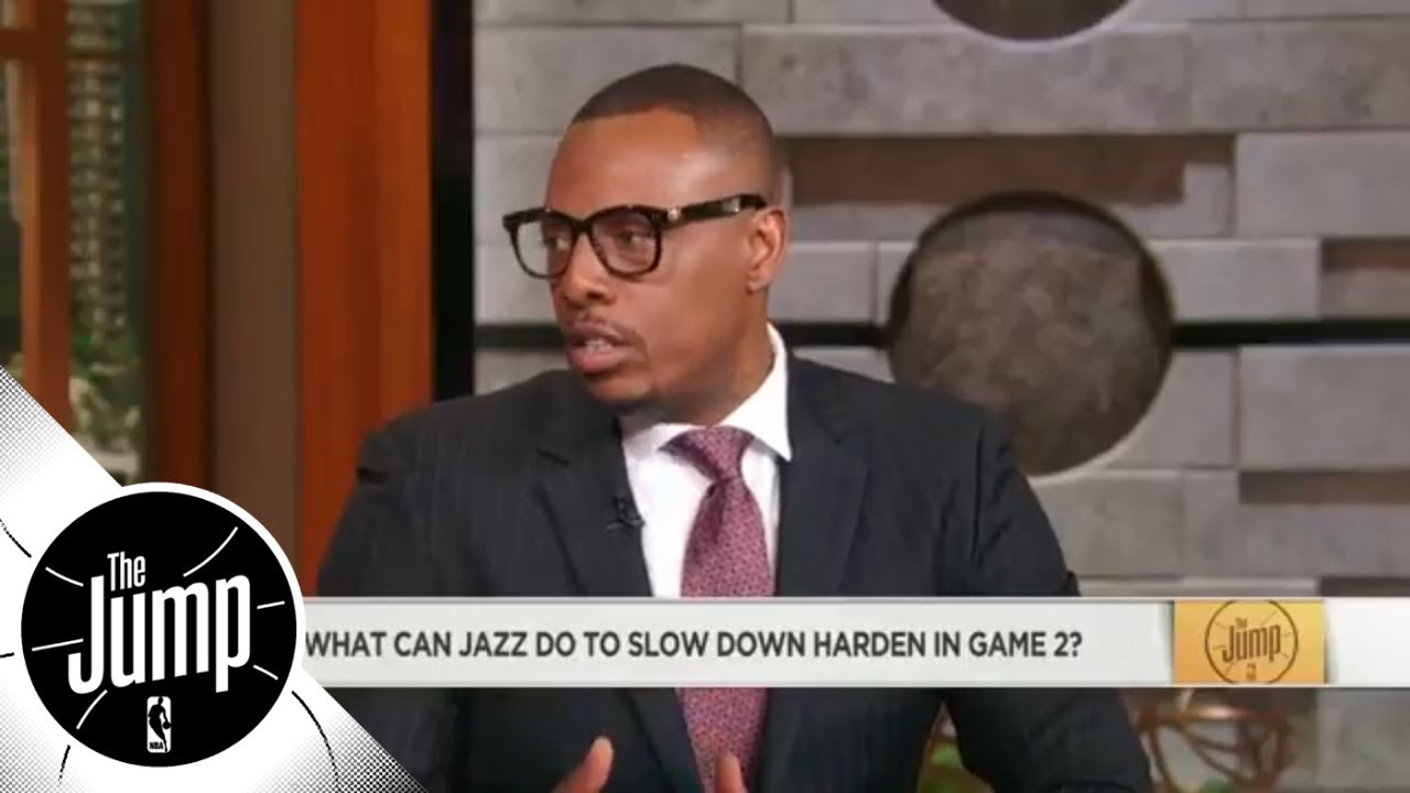 Paul Pierce to Jazz for Game 2: Get the ball out of James Harden's hands | The Jump | ESPN