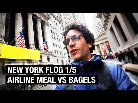 NEW YORK CITY FOOD VLOG 1/5