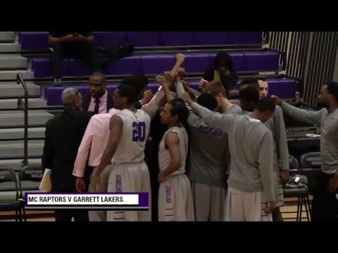 Highlights - MC Men's Basketball v Garrett College