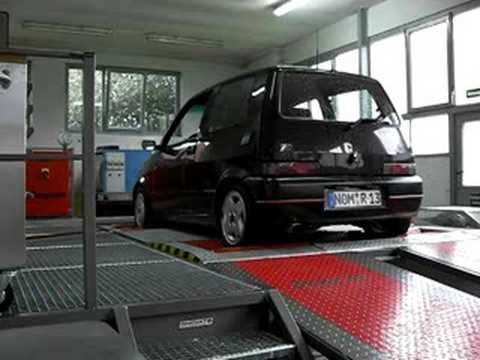 Fiat Cinquecento Sporting Bei A Amp A Autombiltechnik Auf Dem