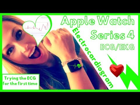 Apple Watch Series 4 Heart Electrocardiogram ECG EKG App  MPN Polycythemia Vera