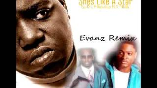 Taio Cruz Ft Notorious B.I.G, P Diddy - Shes Like A Star (Evanz Remix)