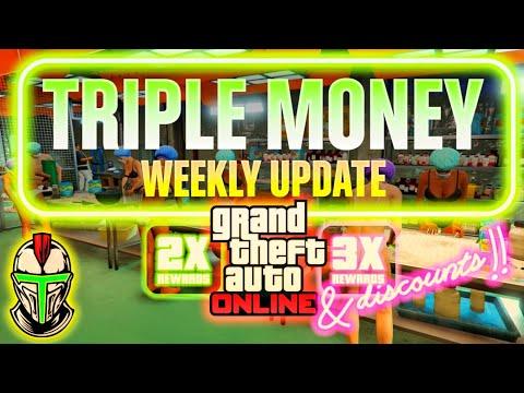 TRIPLE MONEY GTA ONLINE (Official Update) #GTAOnline