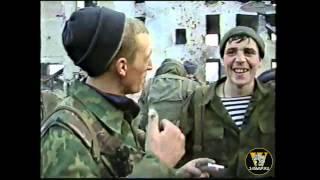 Батюшка на войне в Чечне.