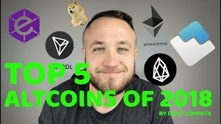 THE TOP 5 ALTCOINS OF 2018 BY DAILY DEVELOPER COMMITS😱