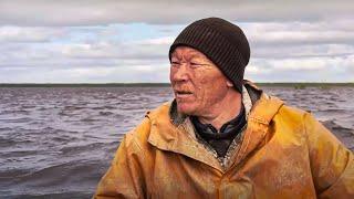 Рыбалка сетями с хантами Щуки монстры Язь Рыбалка на Крайнем Севере С полем Лучшие выпуски