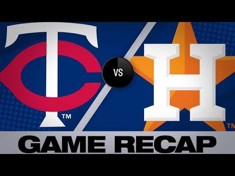 4/23/19: Altuve, Bregman lead Astros past Twins