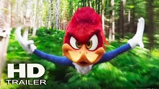 WOODY WOODPECKER - Official Trailer 2018 (Alex Zamm) Action, Live Action Animated Movie