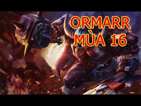 Cách Chơi Ormarr Mùa 16 | Cách chơi, cách di chuyển, phụ trợ, phù hiệu, ngọc cho Ormarr Liên Quân.