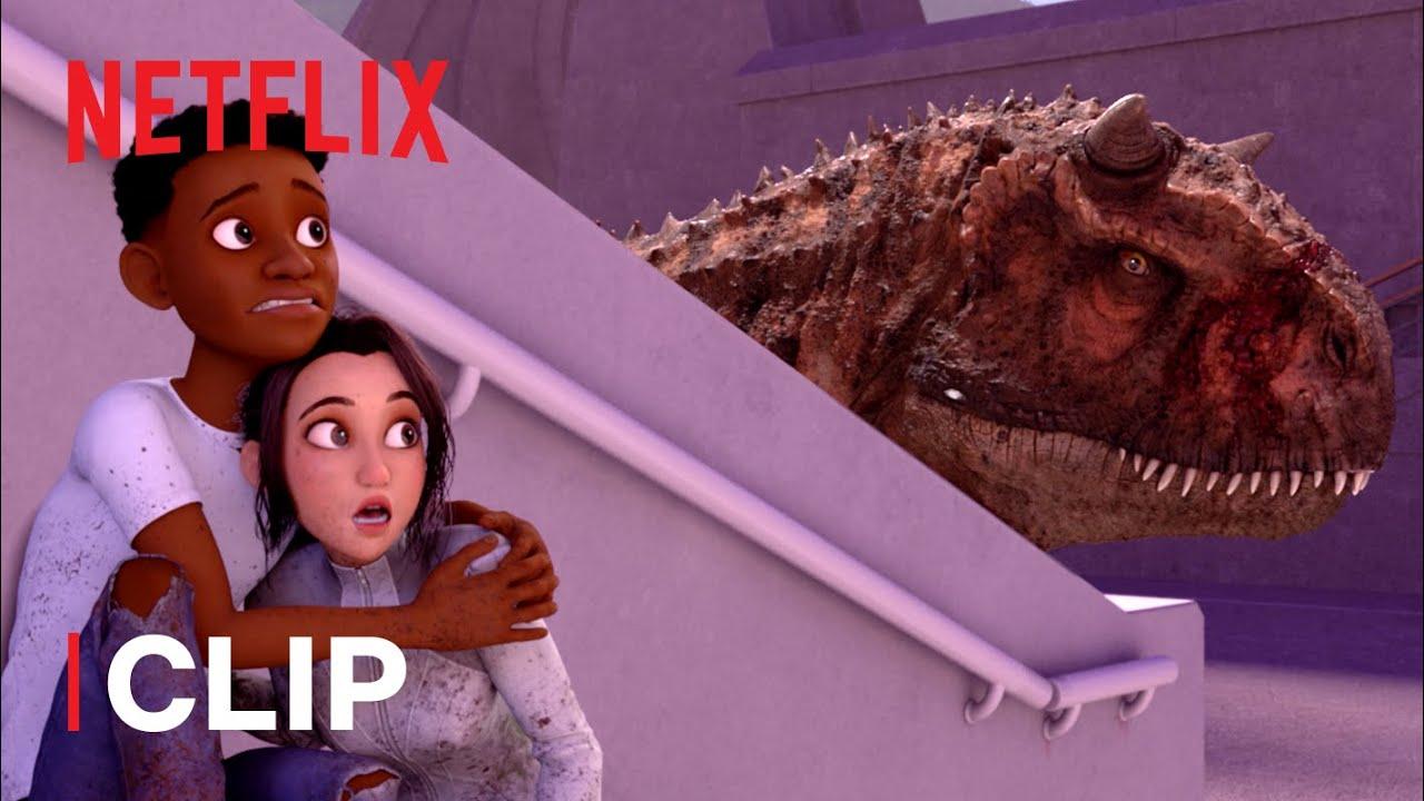 Download Race to Escape 🦖 Jurassic World Camp Cretaceous | Netflix Futures