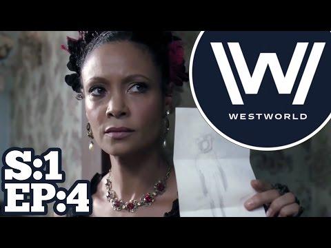 """Westworld Season 1 Episode 4 Recap & Review   """"Dissonance Theory""""   Scene by Scene Breakdown"""