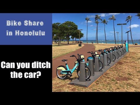Bike Sharing in Honolulu:  Biki comes to Hawaii - Price, costs and location