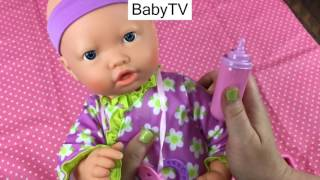 My Sweet Love Interactive Baby Pacifier Sucking Doll from Walmart Unboxing
