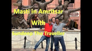Golden Temple I Road Trip to Amritsar I Marriot I Hyatt with Sundeep The Traveller