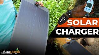 Flexibel Solar Panel Untuk Peralatan USB   Cara Test Output Current USB