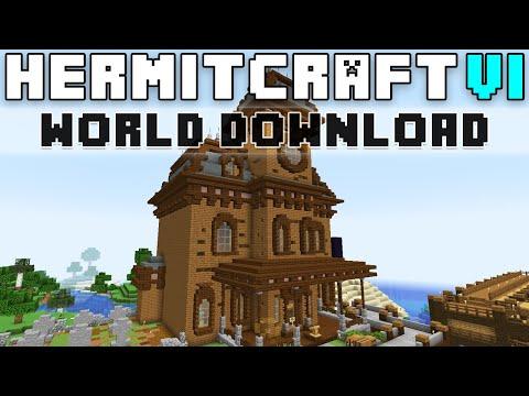Hermitcraft Season Six World Download!