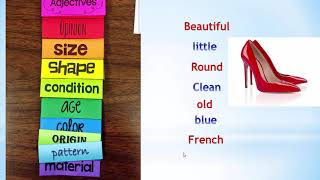 Уроки Английского   Прилагательные в Английском языке   ГРАММАТИКА Английского языка.