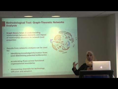 Afreen Siddiqi, Ph.D. A Luncheon Talk on ''Science Technology, and Innovation in the Middle East